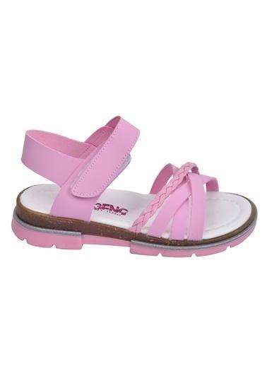 Şirin Bebe Kiko şb 2469-78 Orto pedik Kız Çocuk Sandalet Terlik Pembe
